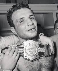 Middleweight Champion Jake La Motta