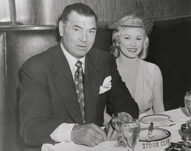 Jack Dempsey and Mamie Van Doren.
