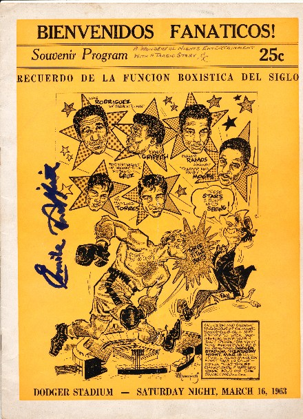Fight Program - Griffith-Rodriguez.