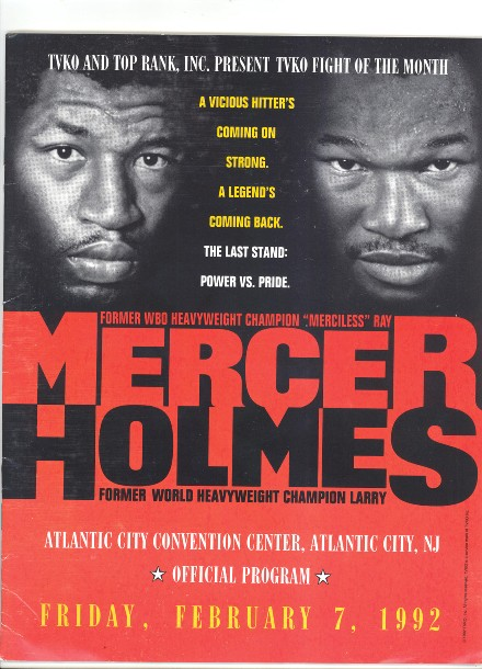 Fight Program - Holmes-Mercer.
