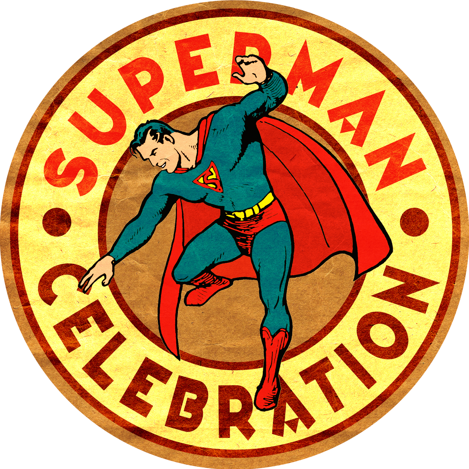 Superman Celebration Circle Good Quality