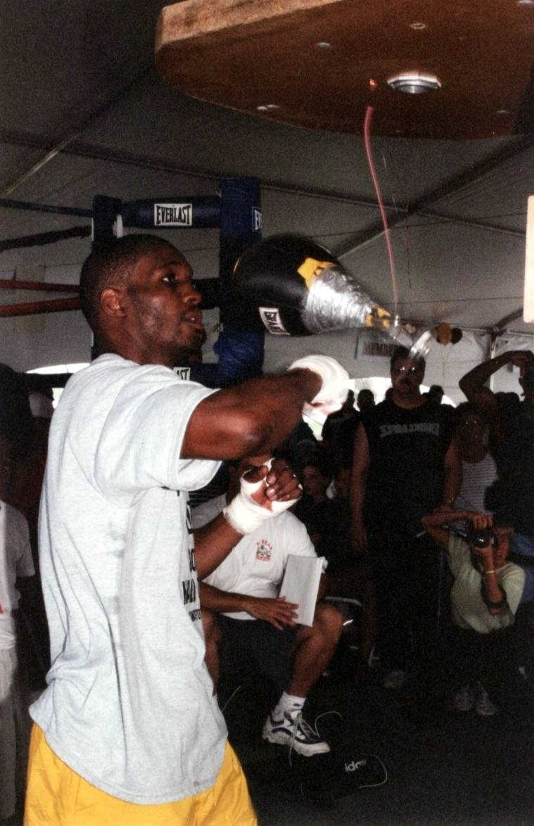 WWWWWWWWWWBernard Hopkins Training Photo by Alex Rinaldi