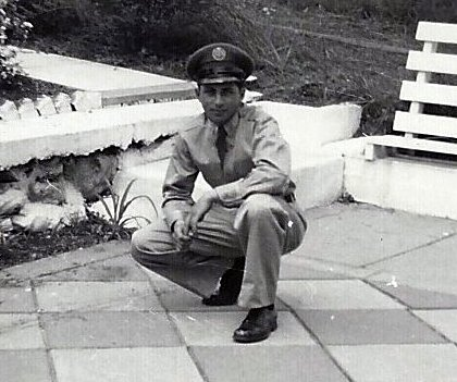 Joseph Rinaldi after his tour of duty in Korea.