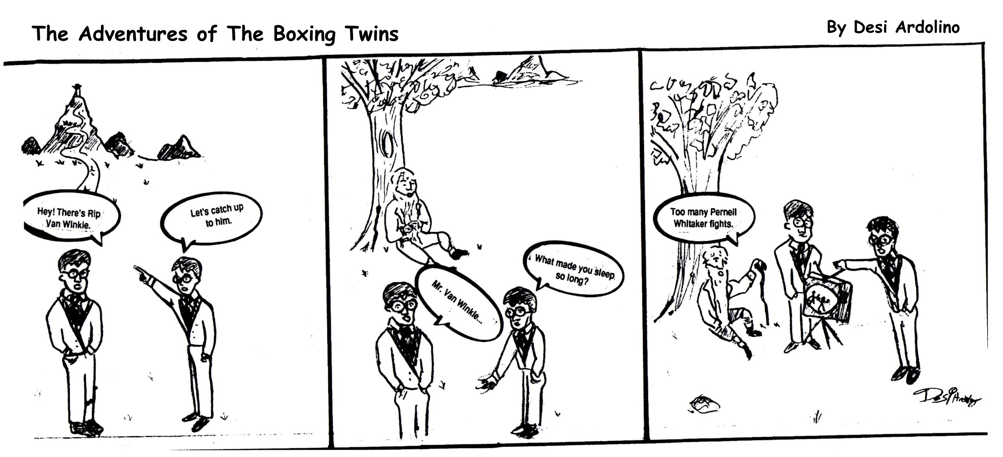 Adventures of the Boxing Twins #1
