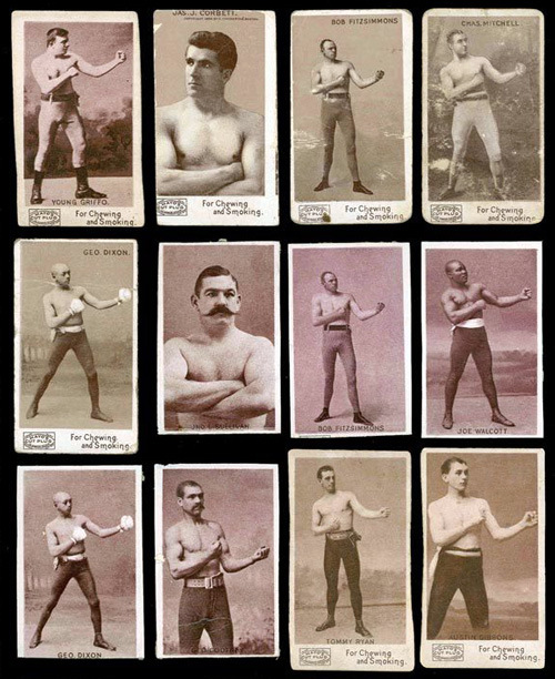 Famous Boxers Cards.