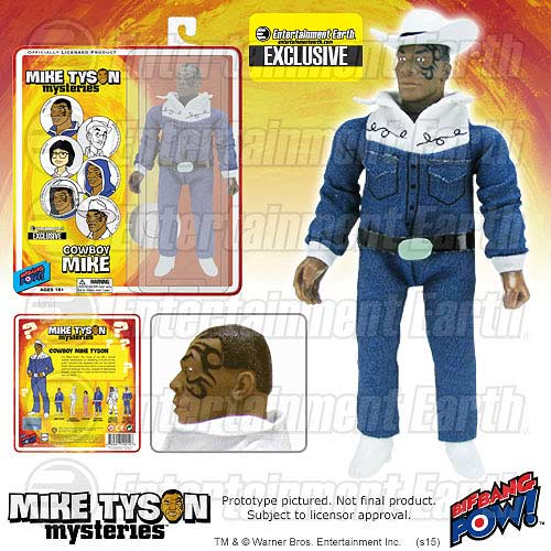 Mike Tyson Mysteries Cowboy Doll.