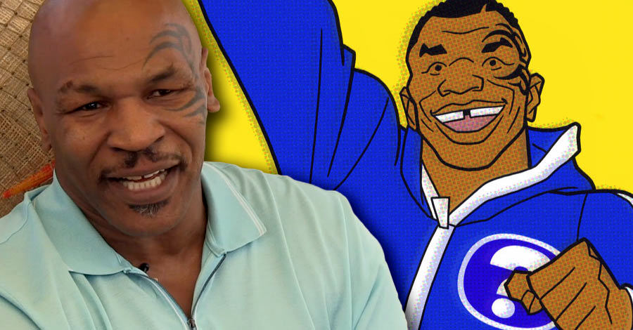 Mike Tyson Mysteries - Mike Tyson and the Cartoon Mike Tyson.