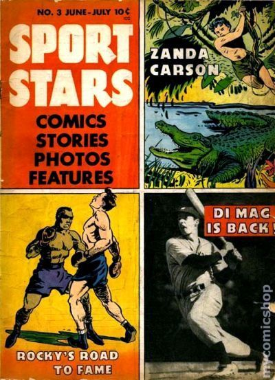 USABNNew boxing cartoon comic book. (2)