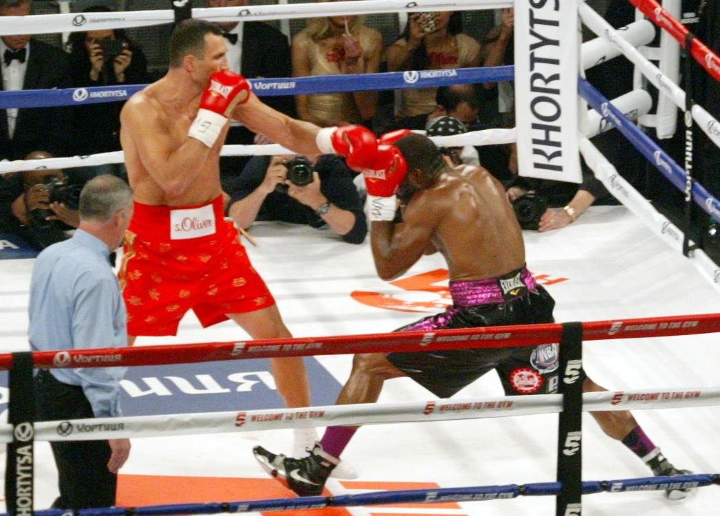 Wladimir Klitschko vs. Bryant Jennings on April 25, 2015 at Madison Square Garden. (PHOTO BY ALEX RINALDI)