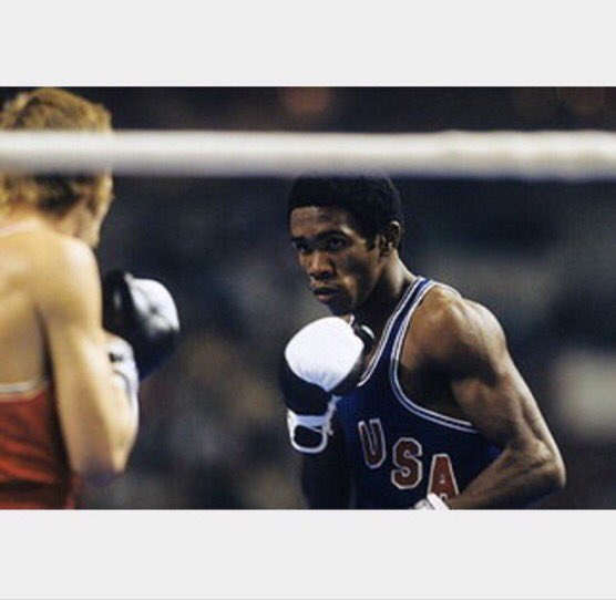 Howard Davis Jr. - 1976 Olympic Champion and Olympic MVP.