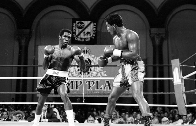 Howard Davis Jr. vs. Hector Camacho.
