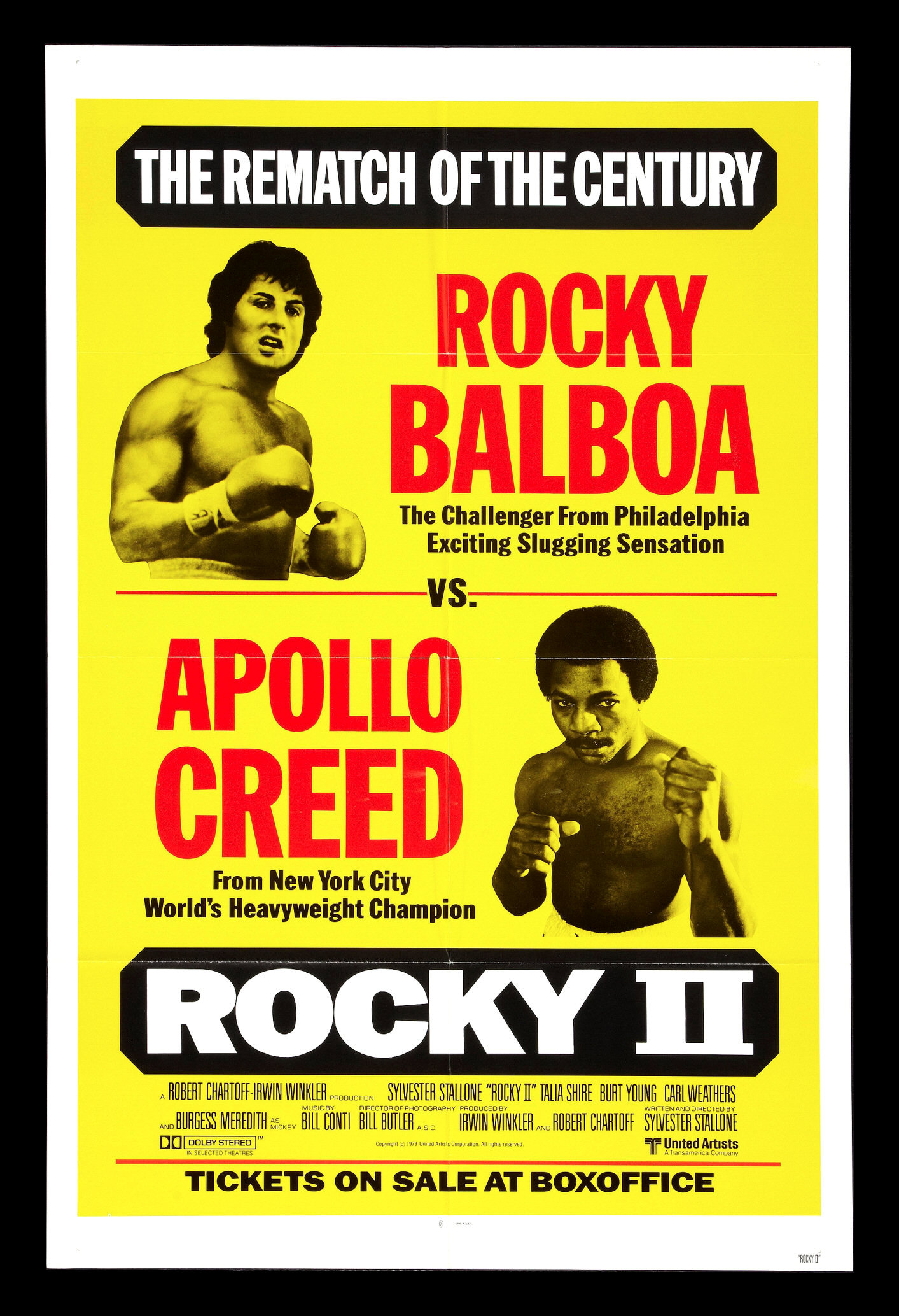 Fight Poster Creed-Balboa II.