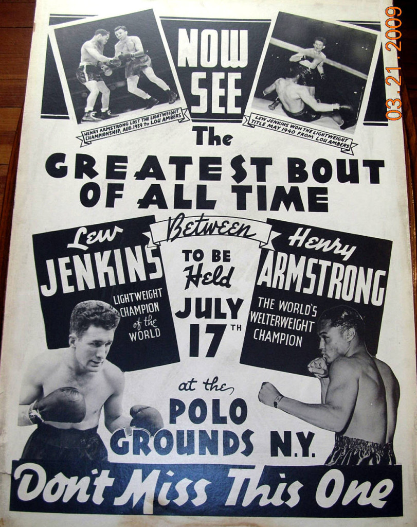 Fight Poster - Jenkins-Armstrong.