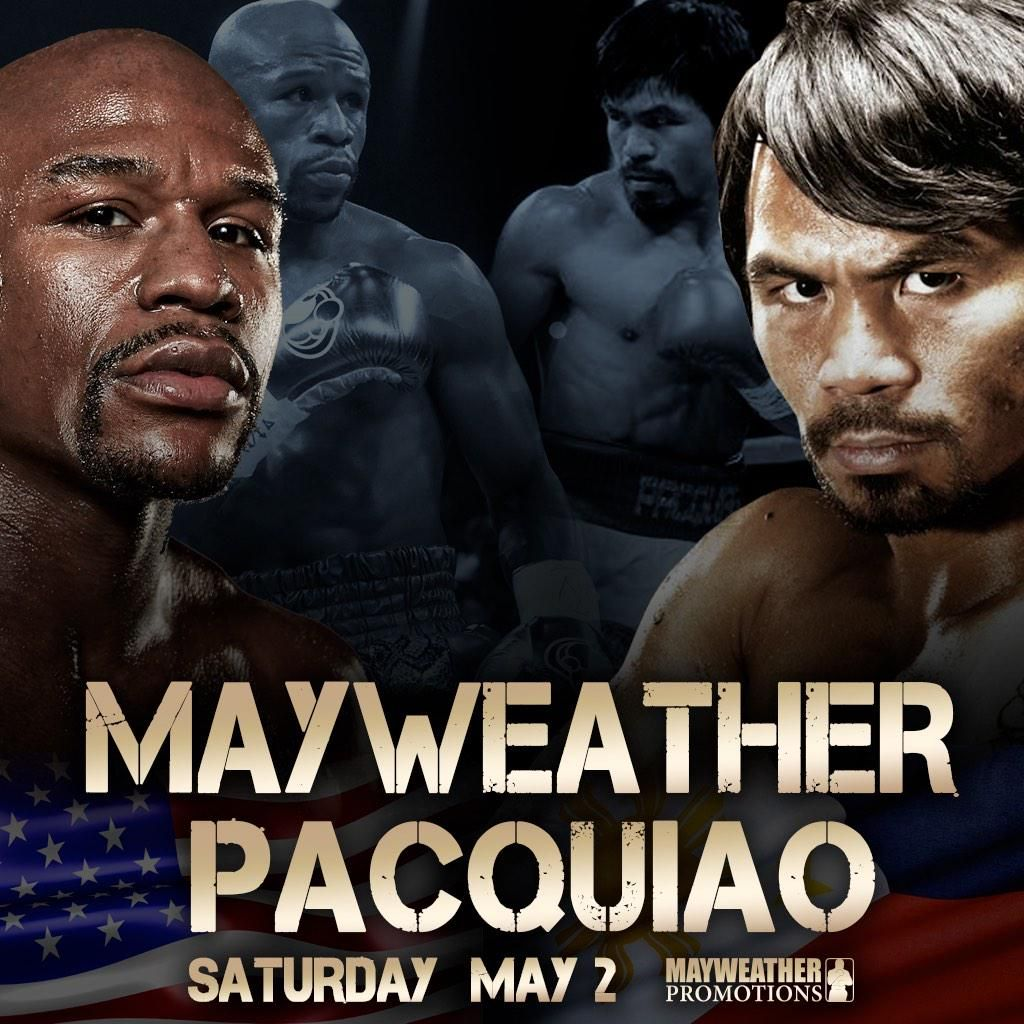 Fight Poster - Mayweather-Pacquiao.