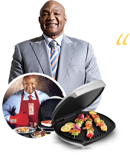 AUGUST2016George Foreman Grill Ad 1.