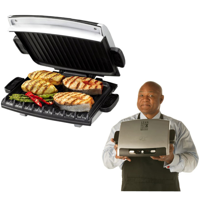 AUGUST2016George Foreman lean fat grill ad.