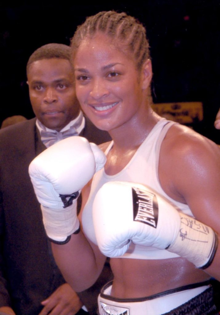 Laila Ali in 2003.