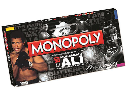 Muhammad Ali Monopoly Game. Muhammad Ali New boxing cartoon Ali. Muhammad Ali Richard Dunn slugs it out with Muhammad Ali. (CLICK PHOTO TO VIEW VIDEO)