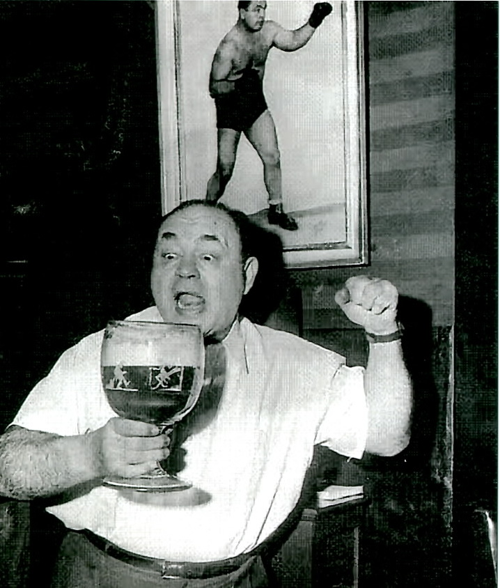 "Heavyweight Contender ""Two Ton"" Tony Galento."