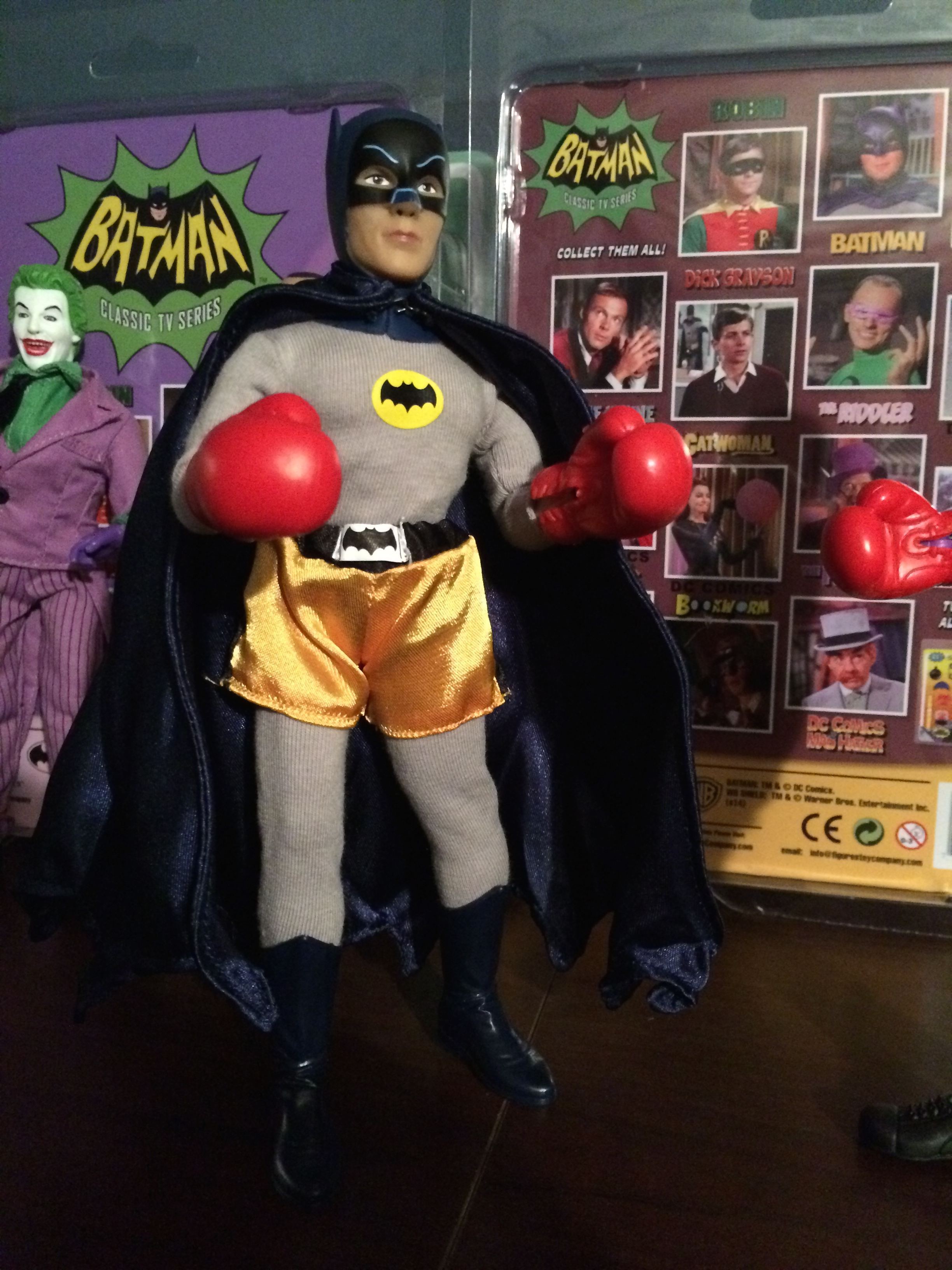 Batman boxing doll.