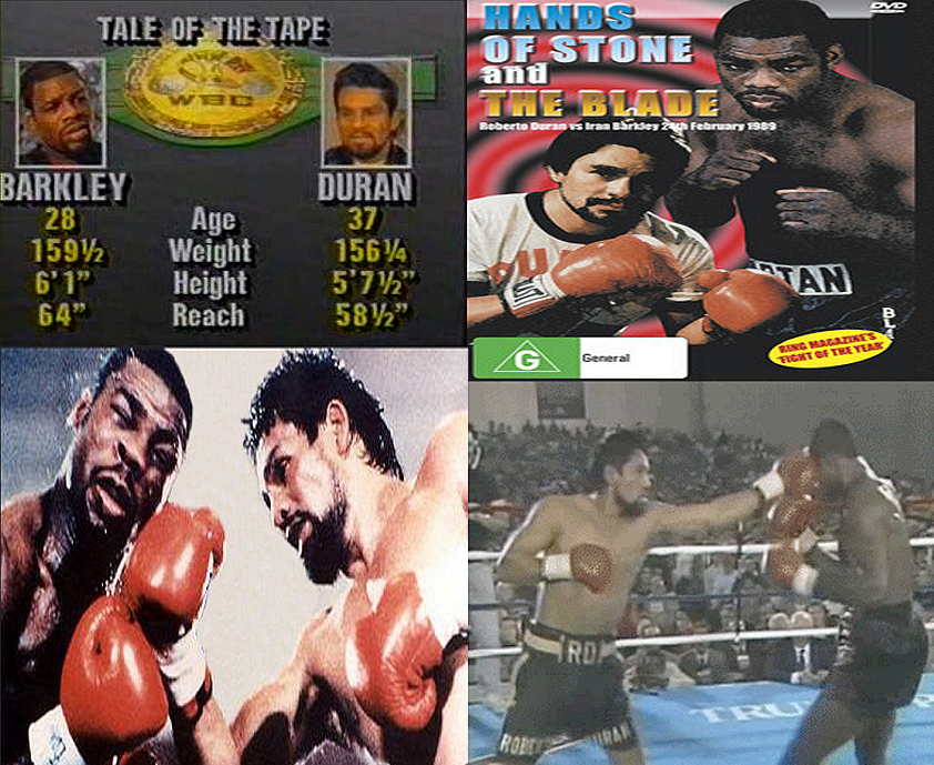 Boxing Legends - Duran-Barkley bout.