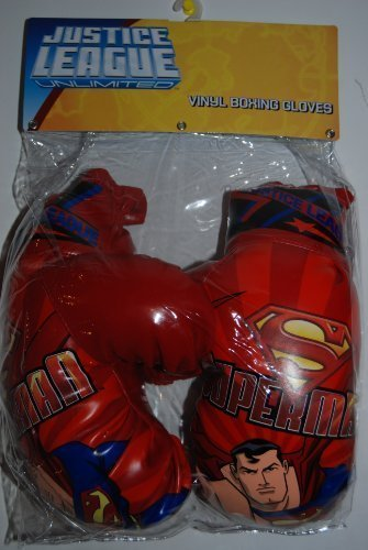 Superman boxing gloves - Justice League.