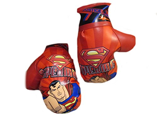 Superman boxing gloves.