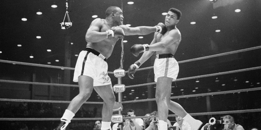 Ali vs. Liston 1 action.