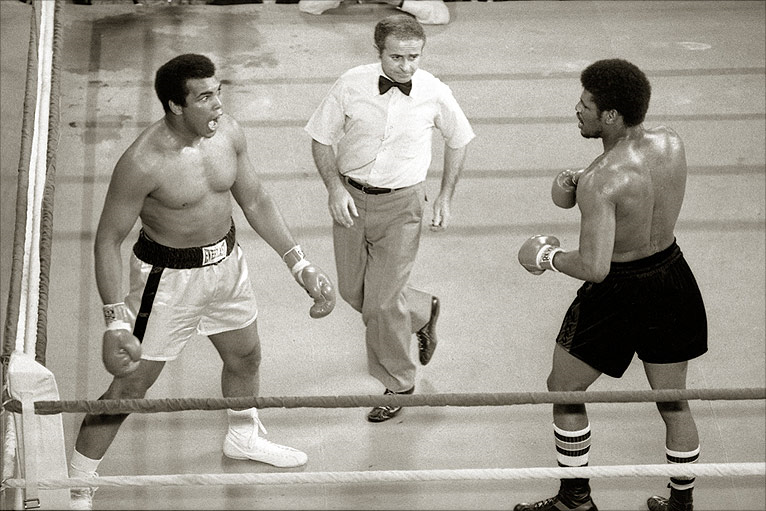 Ali vs. Spinks 1 action.