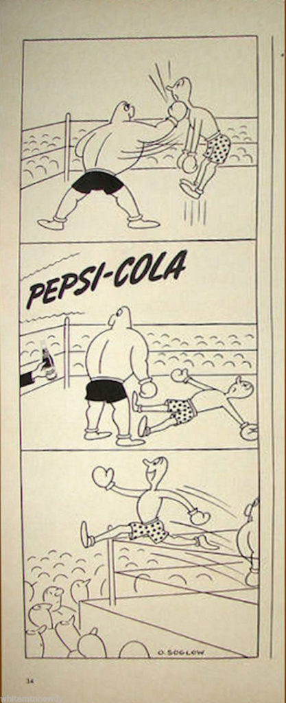 Boxing Cartoon - 1943.
