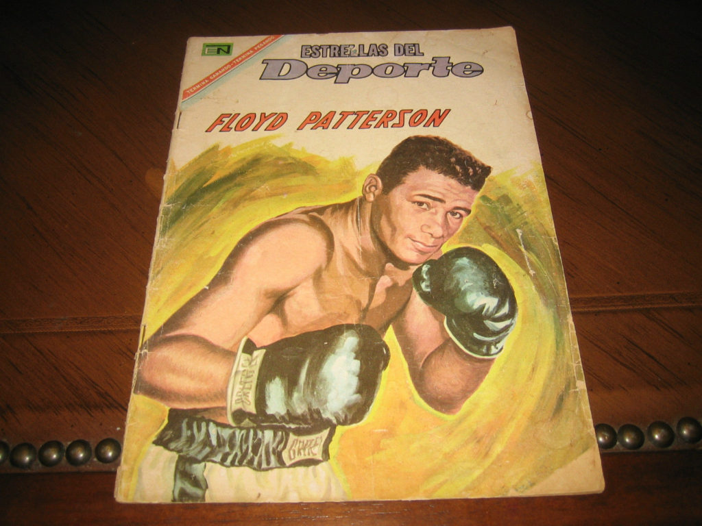 Boxing Cartoon - 1967 Spanish Comic - Floyd Patterson.