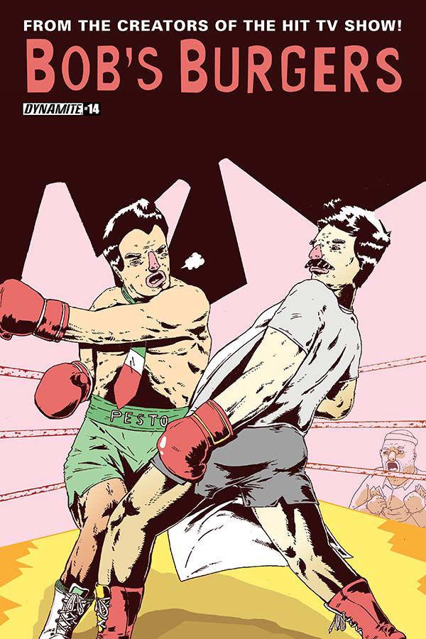 Boxing Cartoon - Comic Book.