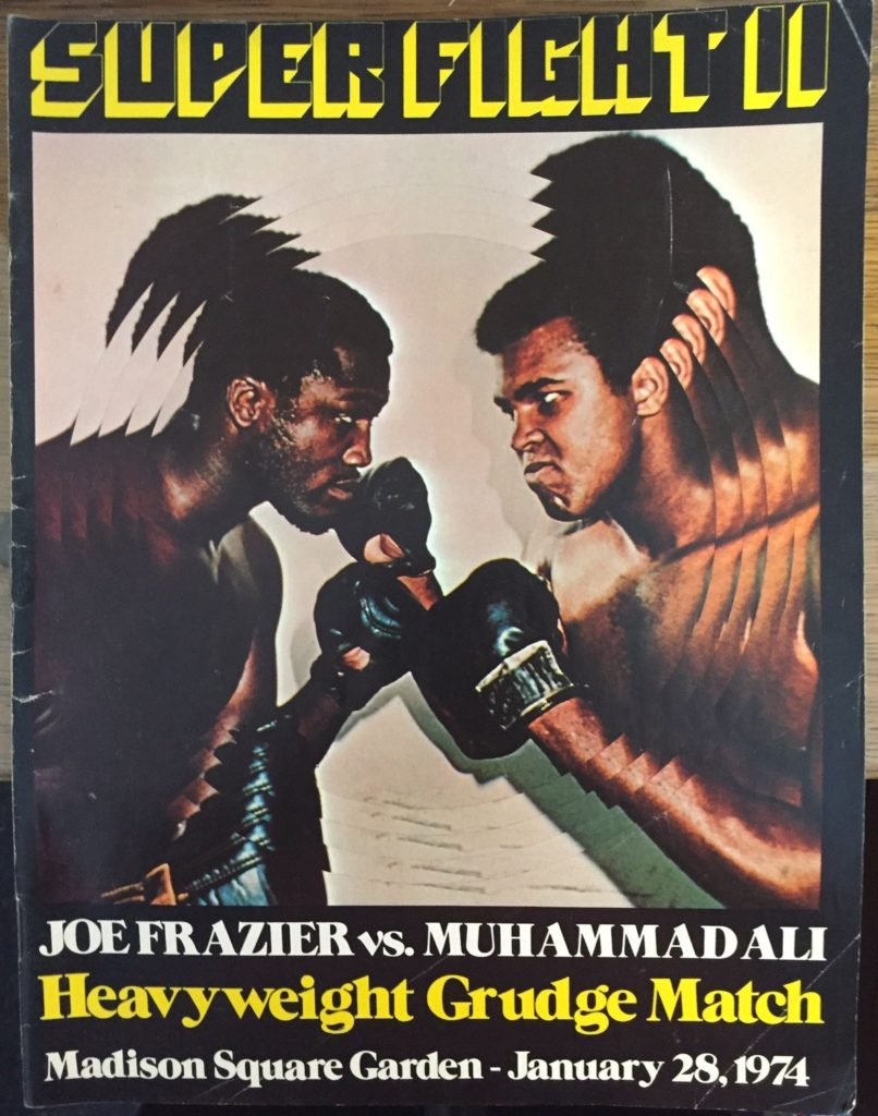 Puglistic program Muhammad Ali vs. Joe Frazier II.