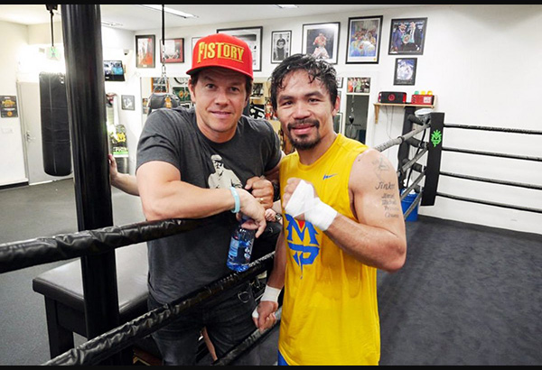 Mark Wahlberg and Manny