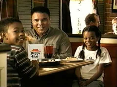 Muhammad Ali Pizza Hut Commercial. (CLICK THE PHOTO TO SEE VIDEO OF COMMERCIAL)