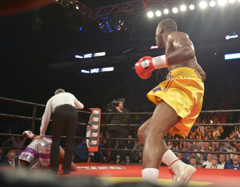Stevenson drops Williams.