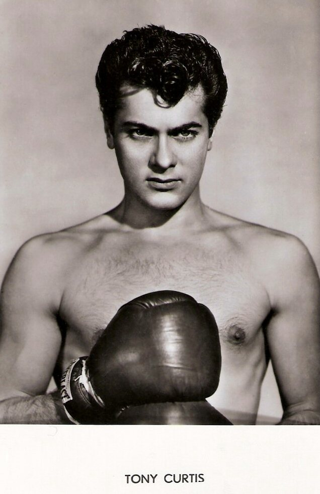 Tony Curtis from Flesh and Fury 1952.