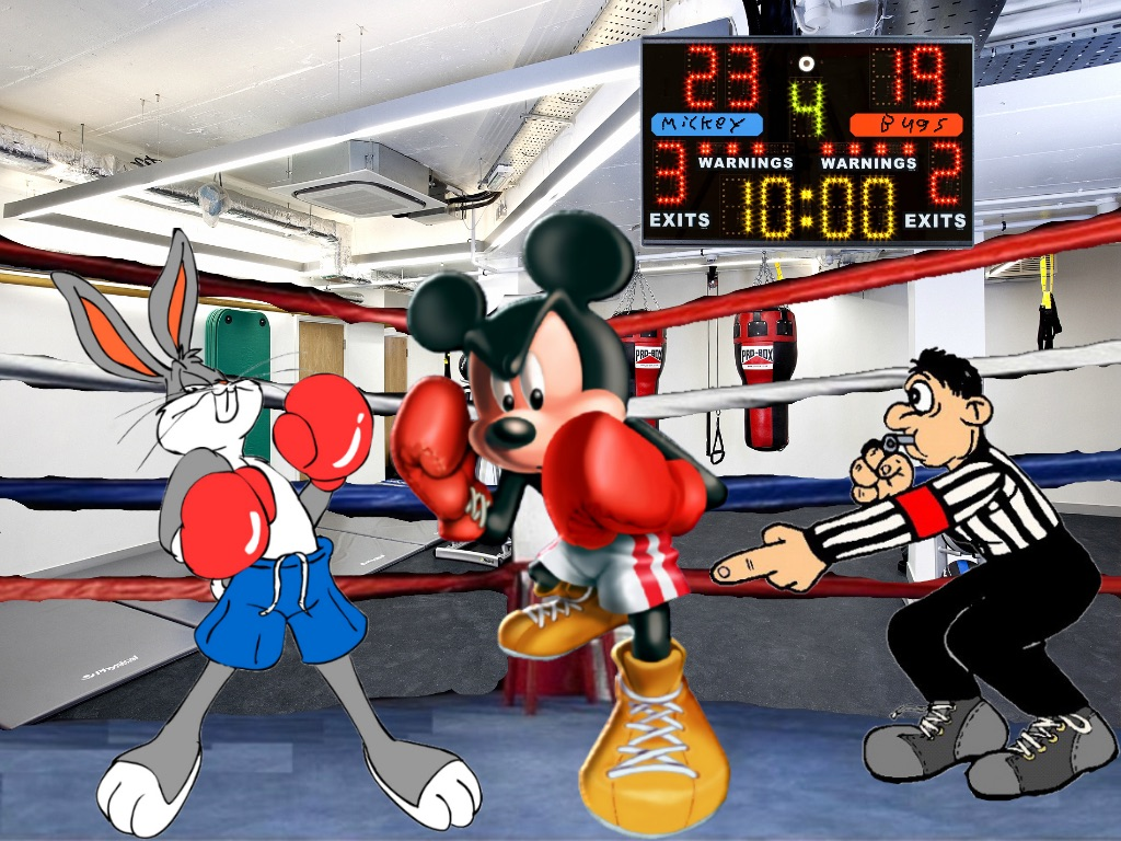26-bugs-bunny-and-mickey-mouse-boxing-cartoon
