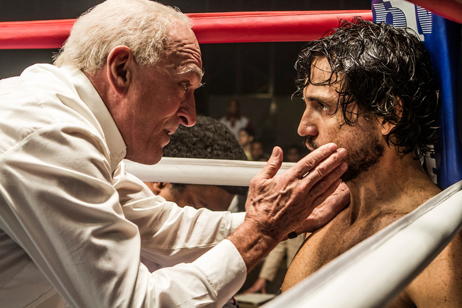 Robert De Niro and Edgar Ramírez star in HANDS OF STONE