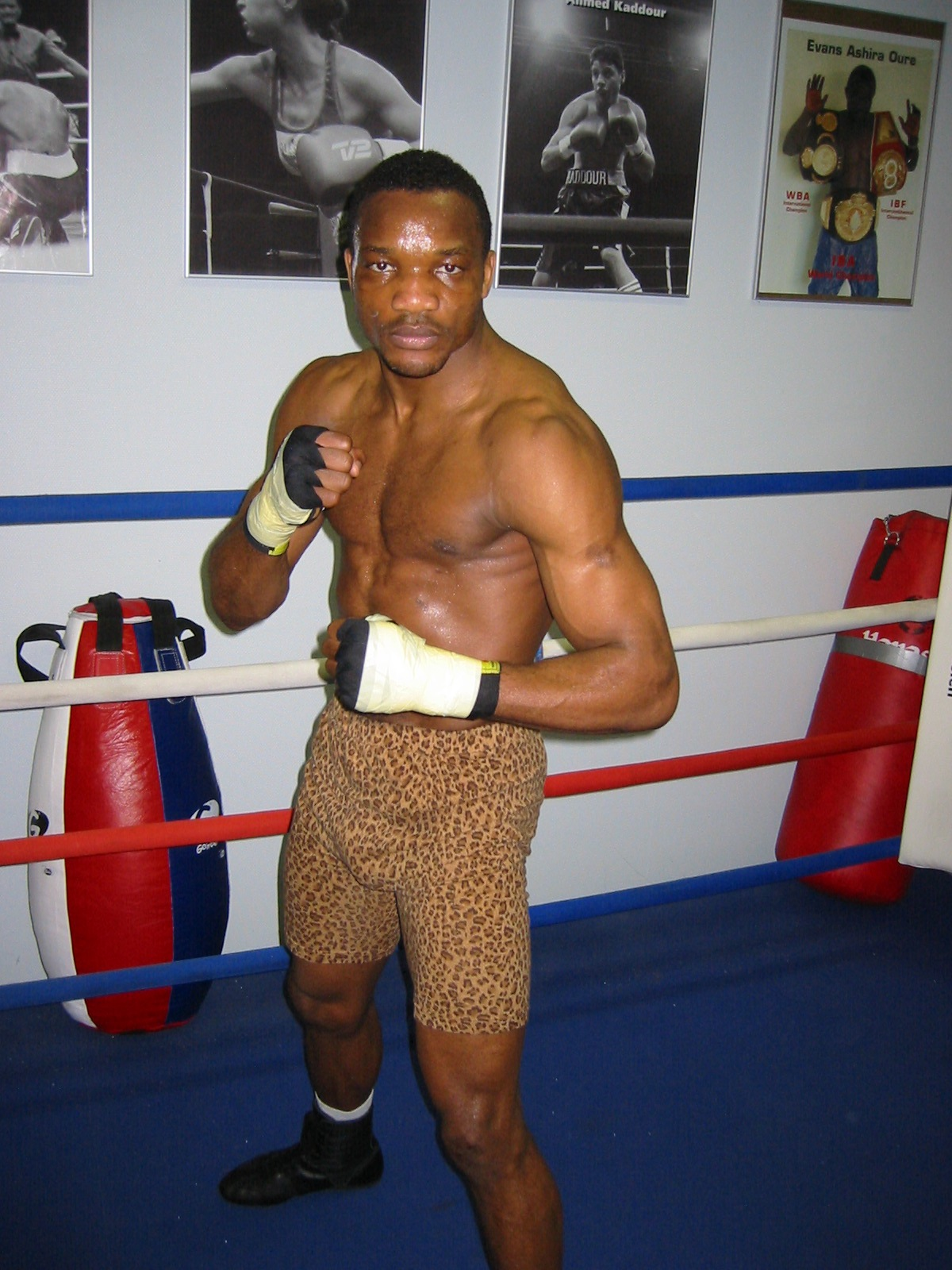 Veteran fighter Lolenga Mock