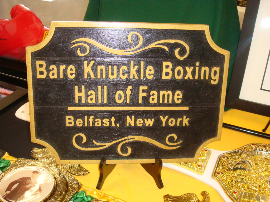 In 2014 Scot Burt Presented Bobby Gunn With The Championship Belt Making Him First World Recognized Bare Knuckle Heavyweight Champion Since