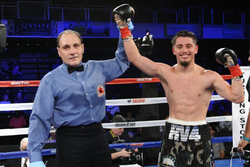 Undefeated Ruben Villa