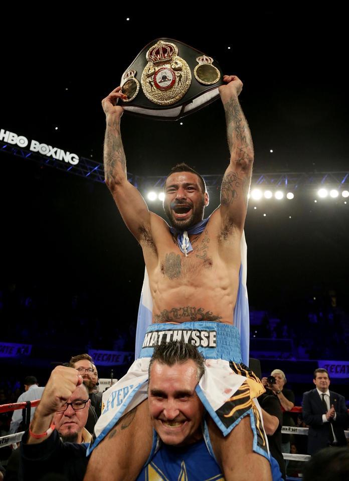 Lucas Matthysse - WBA Wlterweight champion
