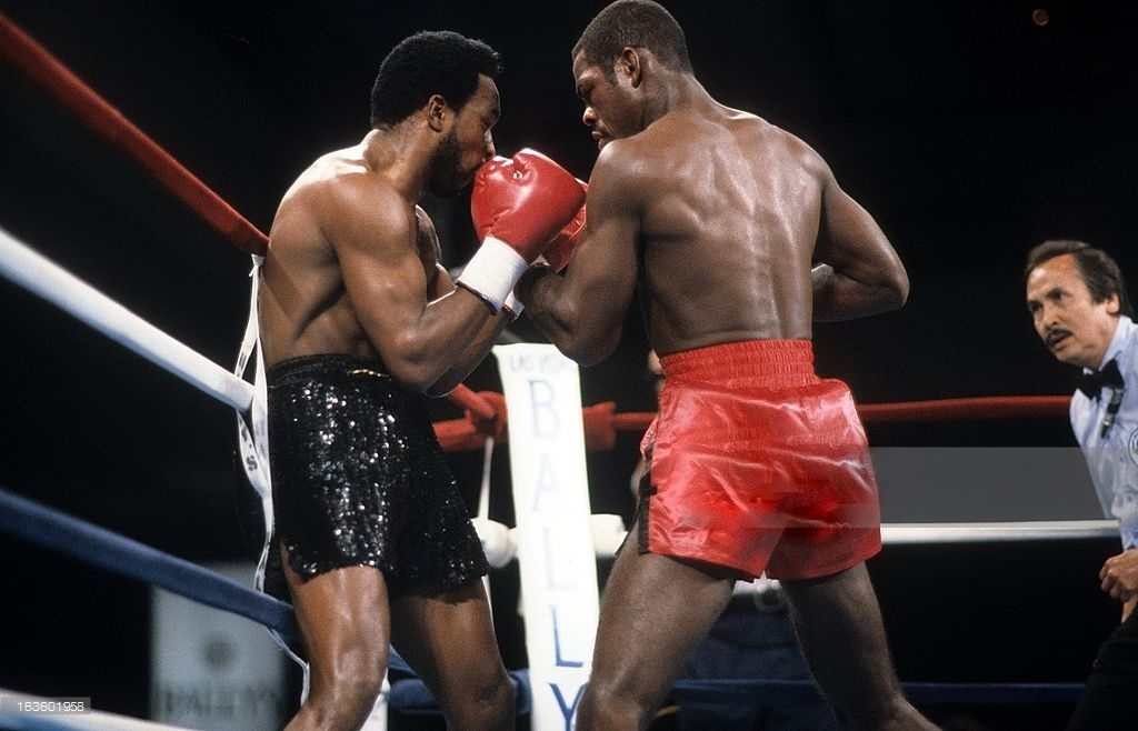 Nigel Benn vs Iran Barkley