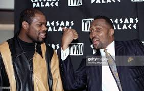 Iran Barkley and Thomas Hearns