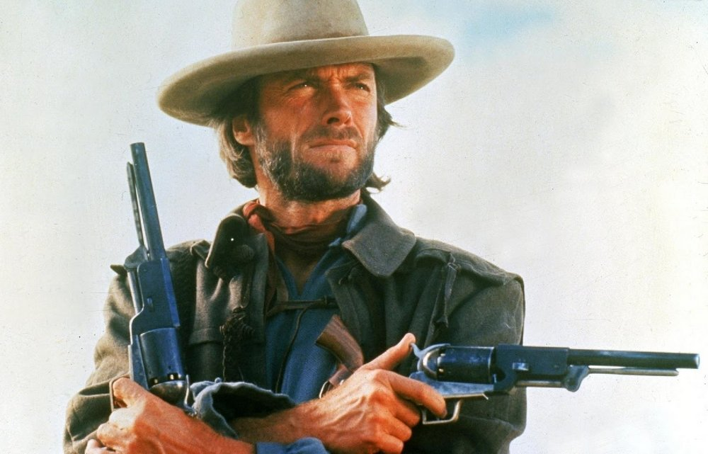 Clint Eastwood as Outlaw Josey Wales