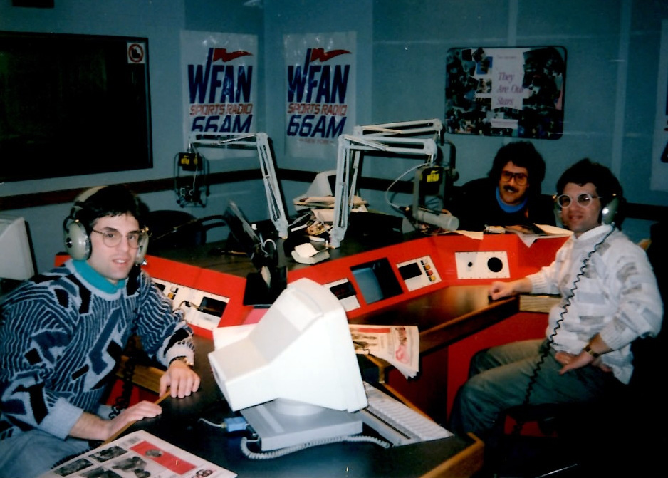 The Boxing Twins John and Alex Rinaldi  are guests on WFAN radio station in New York .