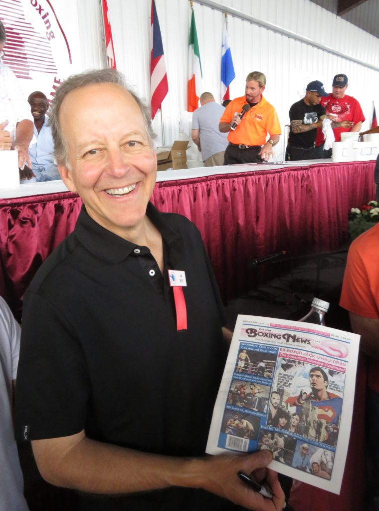 Abnnouncer Jim Gray with The USA Boxing News