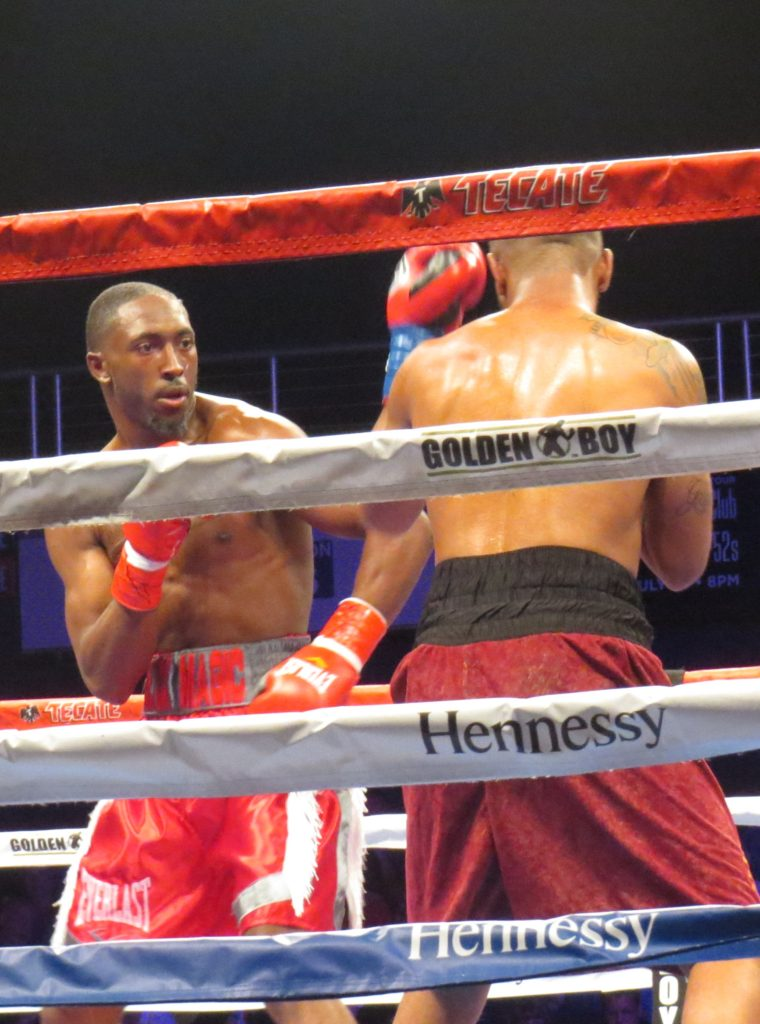 Travell Mazion won an eight-round unanimous decision over Daquan Pauldo