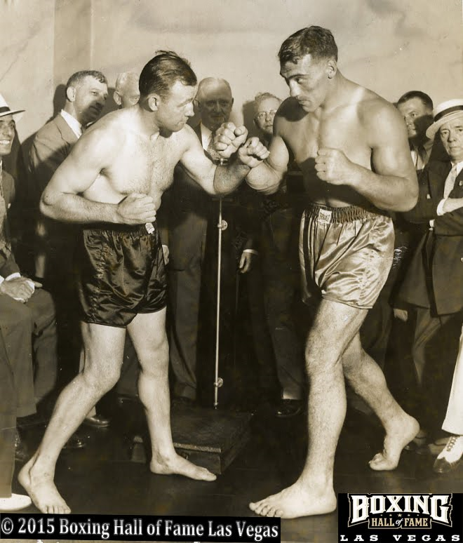 Jack Sharkey and Primo Carnera